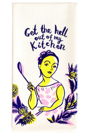 Blue Q Out Kitchen Towel - Front full body
