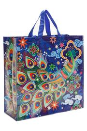 Blue Q Peacock Shopper Bag - Product Mini Image