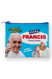 Blue Q Pope Francis Coin Purse - Product Mini Image