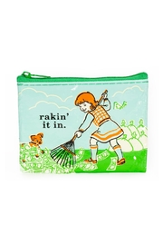 Blue Q Rakin-It-In Coin Purse - Product Mini Image