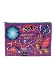 Blue Q Random Jumbo Pouch - Front cropped