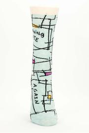 Shoptiques Product: Running Late Socks - Front full body