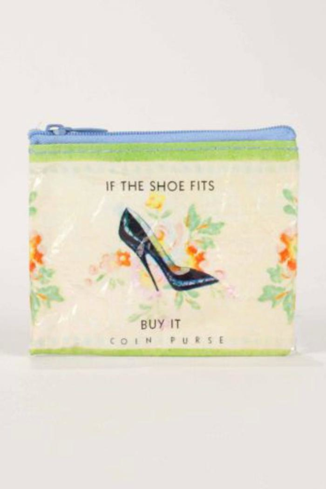 Blue Q Shoe Coin Purse - Main Image