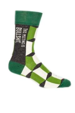 Shoptiques Product: This Meeting Socks