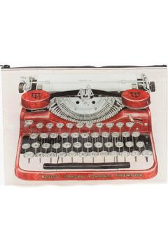 Shoptiques Product: Typewriter Zipper Pouch