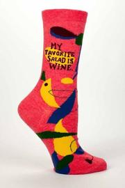 Blue Q Wine Salad Socks - Product Mini Image