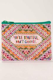 Blue Q You're Beautiful Coin Purse - Product Mini Image