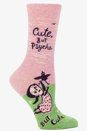 Blue Q Cute But Psycho Socks - Product Mini Image