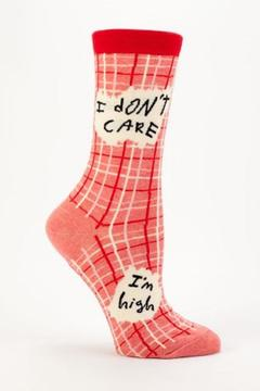 Shoptiques Product: I Don't Care Socks