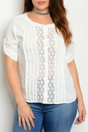 Bluebell Off White Top - Product Mini Image