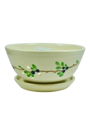 Emerson Creek Pottery Blueberry Berry Bowl - Product Mini Image