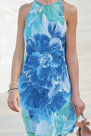Frank Lyman Blues floral dress from the Cruise Collection - Product Mini Image