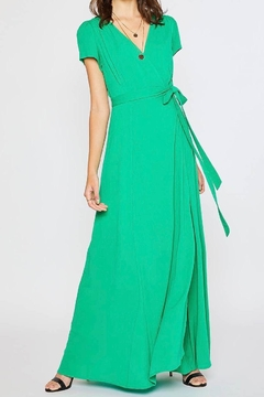 Shoptiques Product: Wrap Maxi Dress