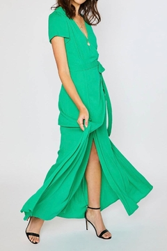 Bluivy Wrap Maxi Dress - Alternate List Image