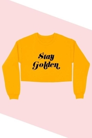 BLUME + CO. Stay Golden Sweatshirt - Product Mini Image