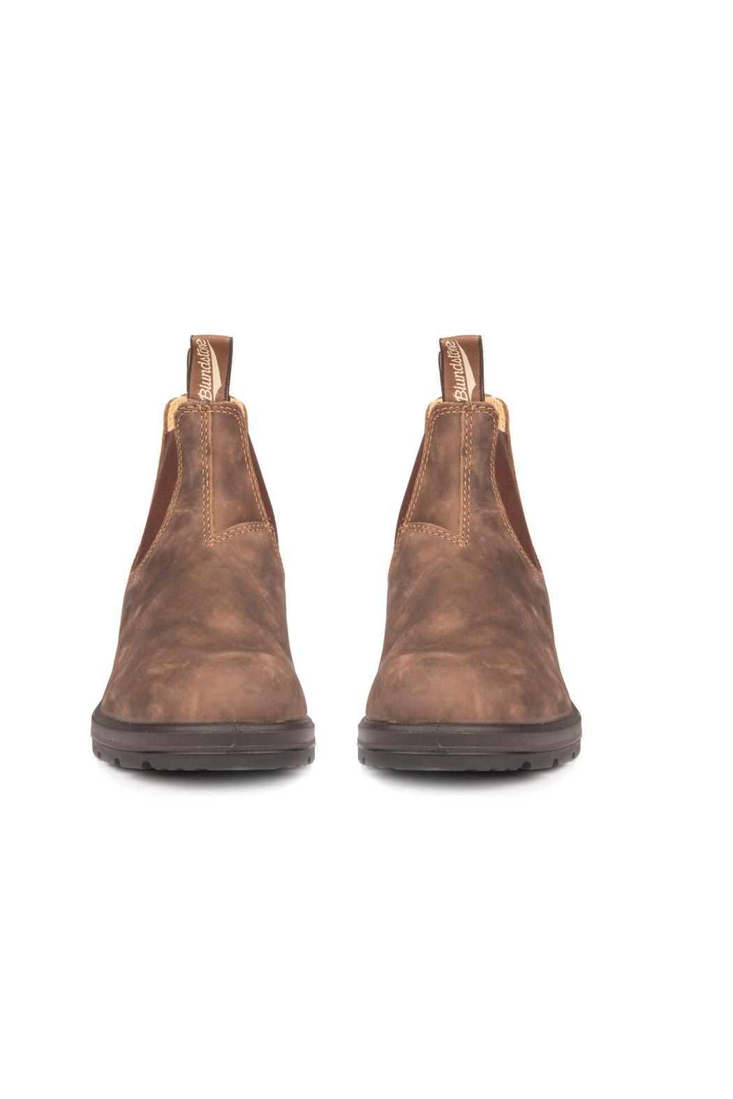 Blundstone  585 Rustic Brown Boot - Front Full Image