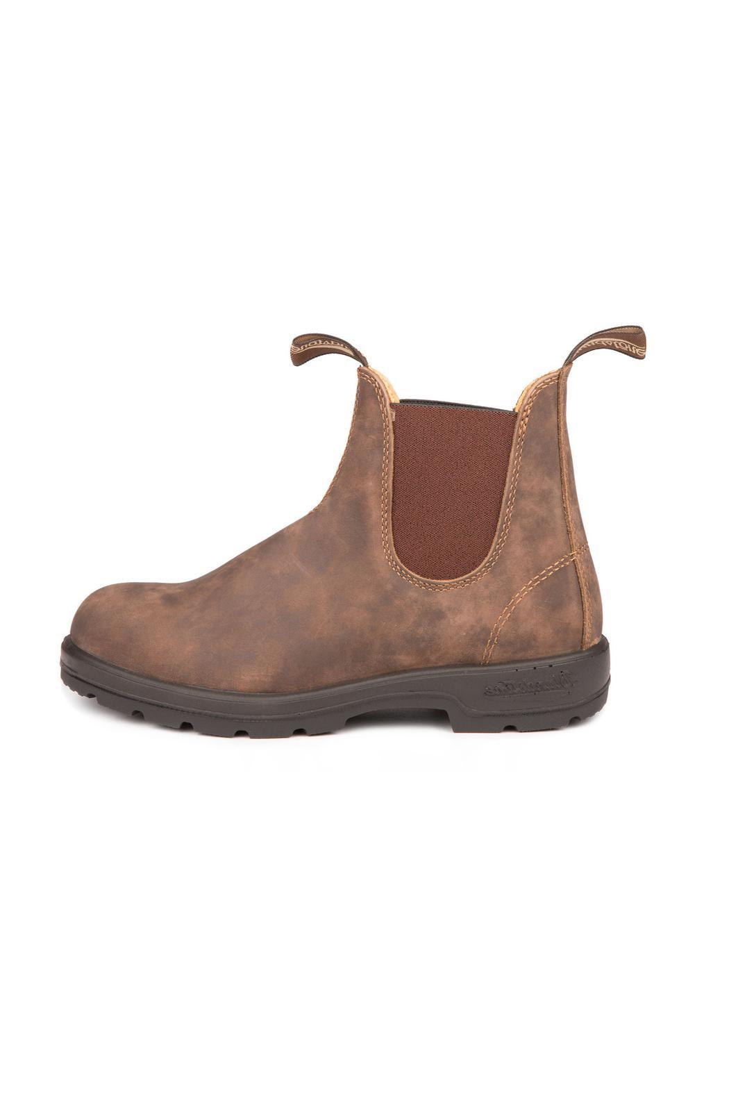 Blundstone  585 Rustic Brown Boot - Front Cropped Image