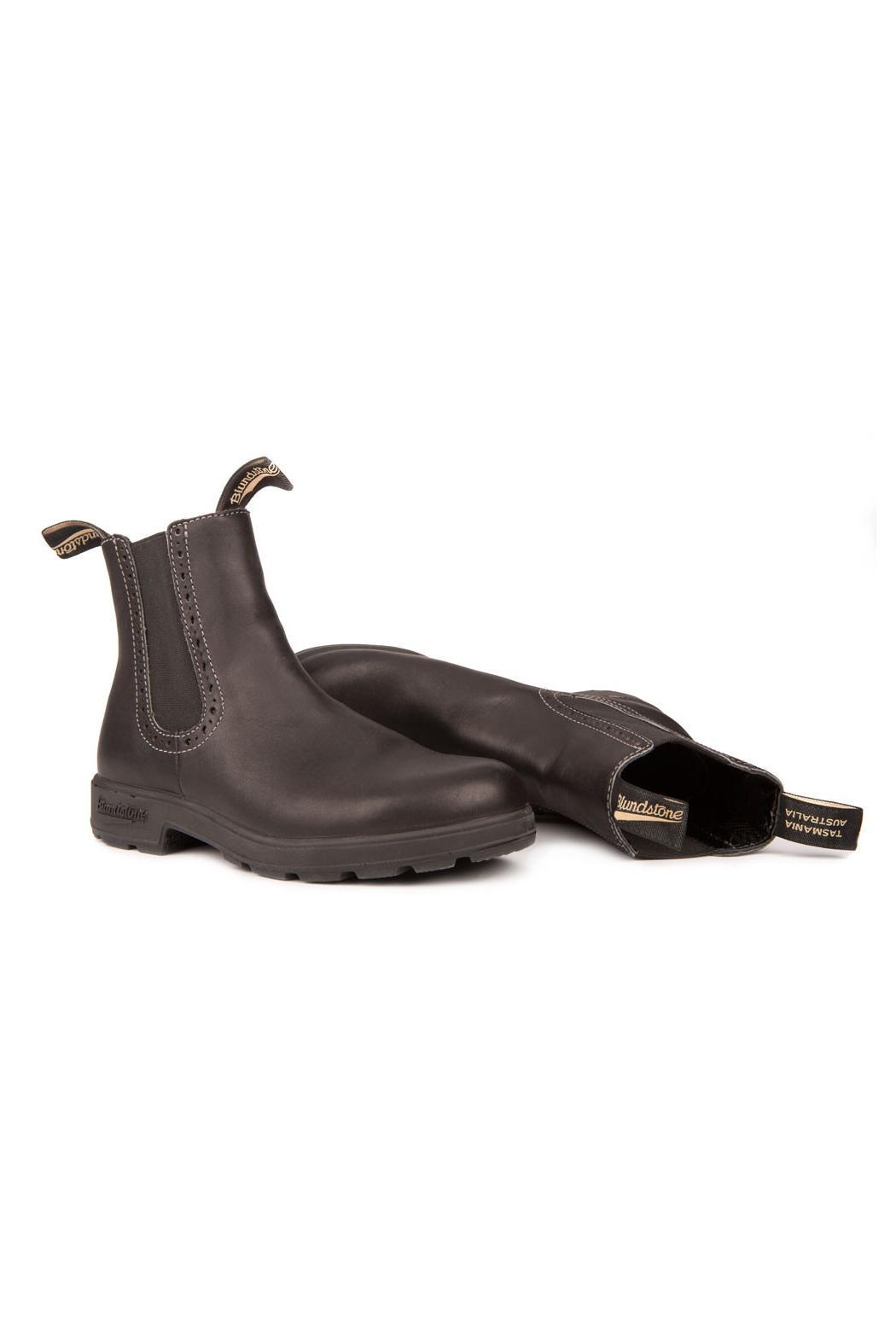 Blundstone  Girlfriend 1448  Black Boot - Back Cropped Image