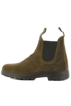 Shoptiques Product: Olive Leather Boot