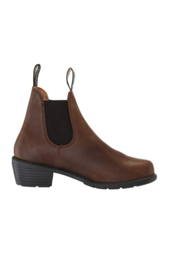 Shoptiques Product: Blundstone Women's Series Heeled Boots in Antique Brown