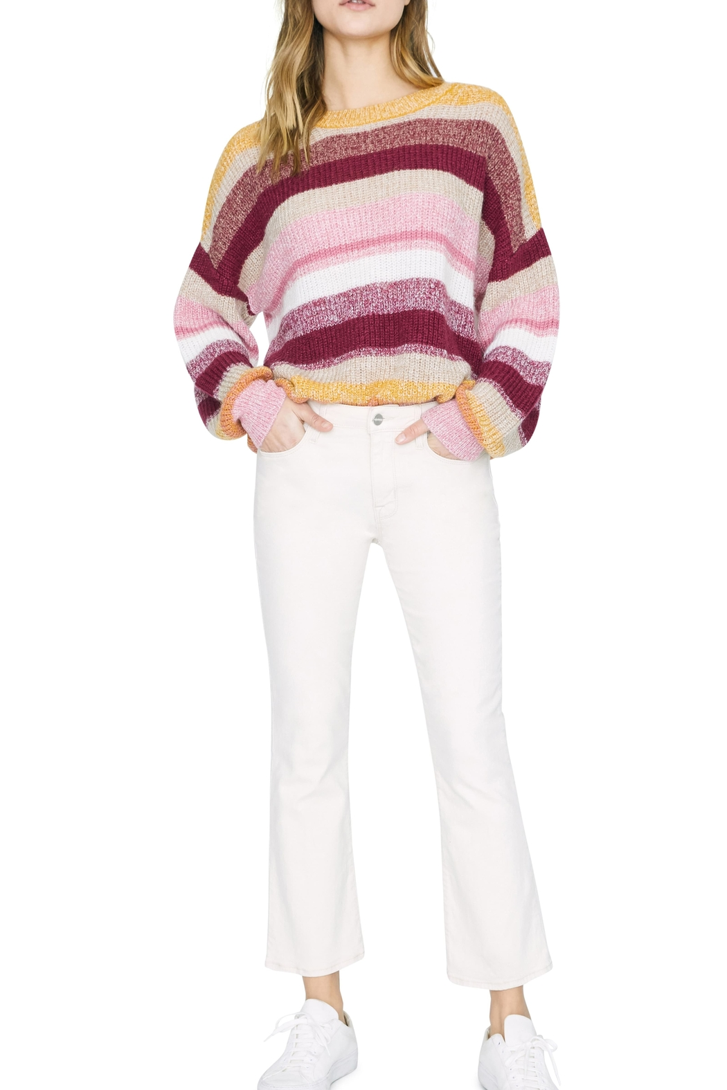 Sanctuary Blurred Lines Sweater - Side Cropped Image