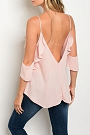 Maronie  Blush Blouse - Front full body