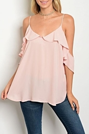 Maronie  Blush Blouse - Product Mini Image