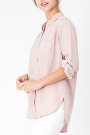 Sneak Peak Blush Button-Down Top - Product Mini Image