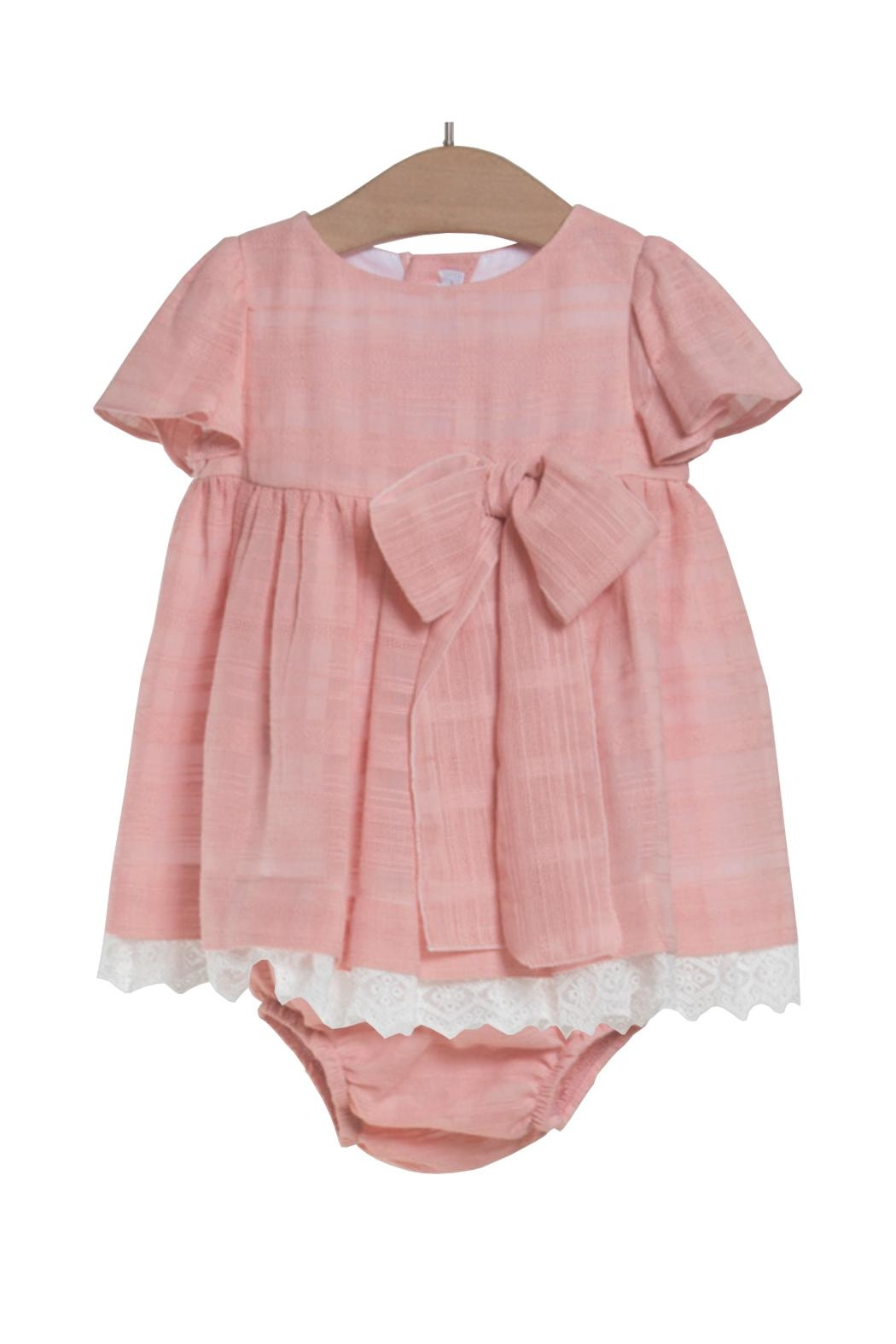 Fina Ejerique Blush Dress. - Front Cropped Image