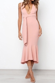 Chikas Blush Dress - Front full body