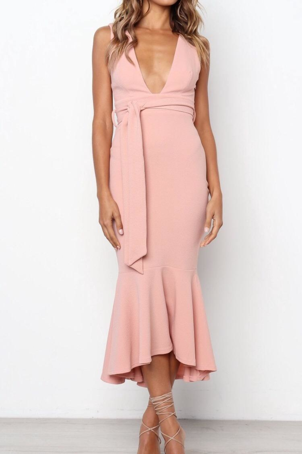 Chikas Blush Dress - Main Image