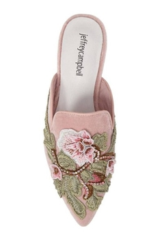 Jeffrey Campbell Blush Embroidered Mule - Alternate List Image