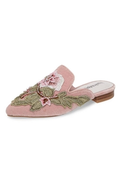 Jeffrey Campbell Blush Embroidered Mule - Product List Image