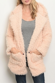 Shop The Trends  Blush Faux Fur - Product Mini Image