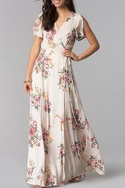 rokoko Blush Floral Wrap-Maxi - Product Mini Image