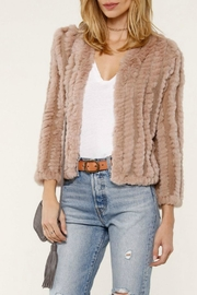 Heartloom Blush Fur Jacket - Product Mini Image