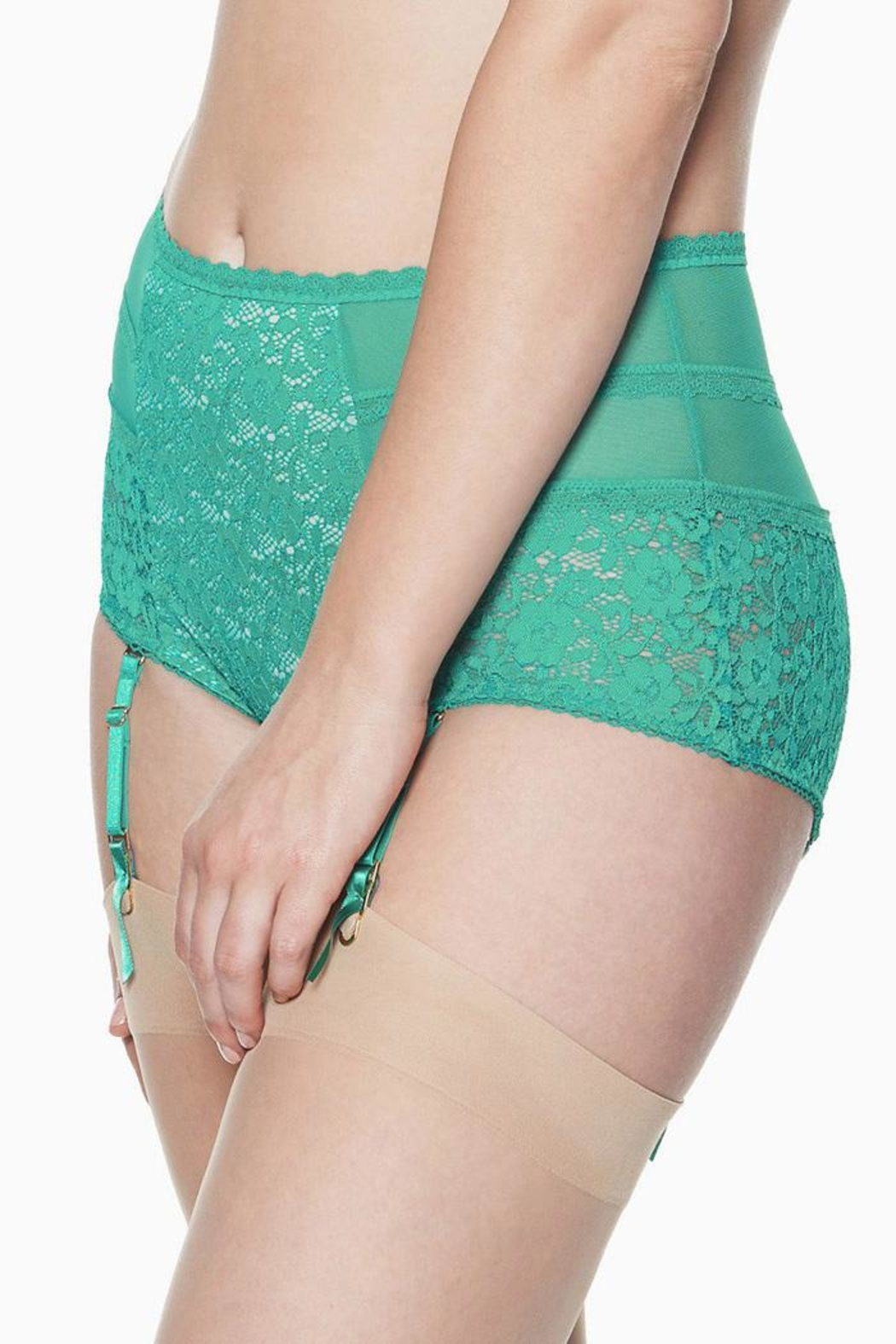 Blush Fanciful Retro Brief - Front Full Image