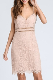 storia Blush Lace Dress - Product Mini Image