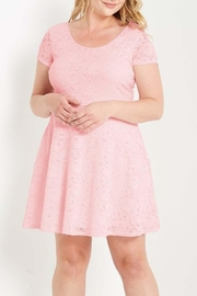 Mai Tai Blush Lace Dress - Product Mini Image