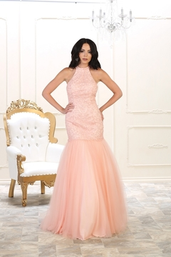 Shoptiques Product: Blush Mermaid Long Dress