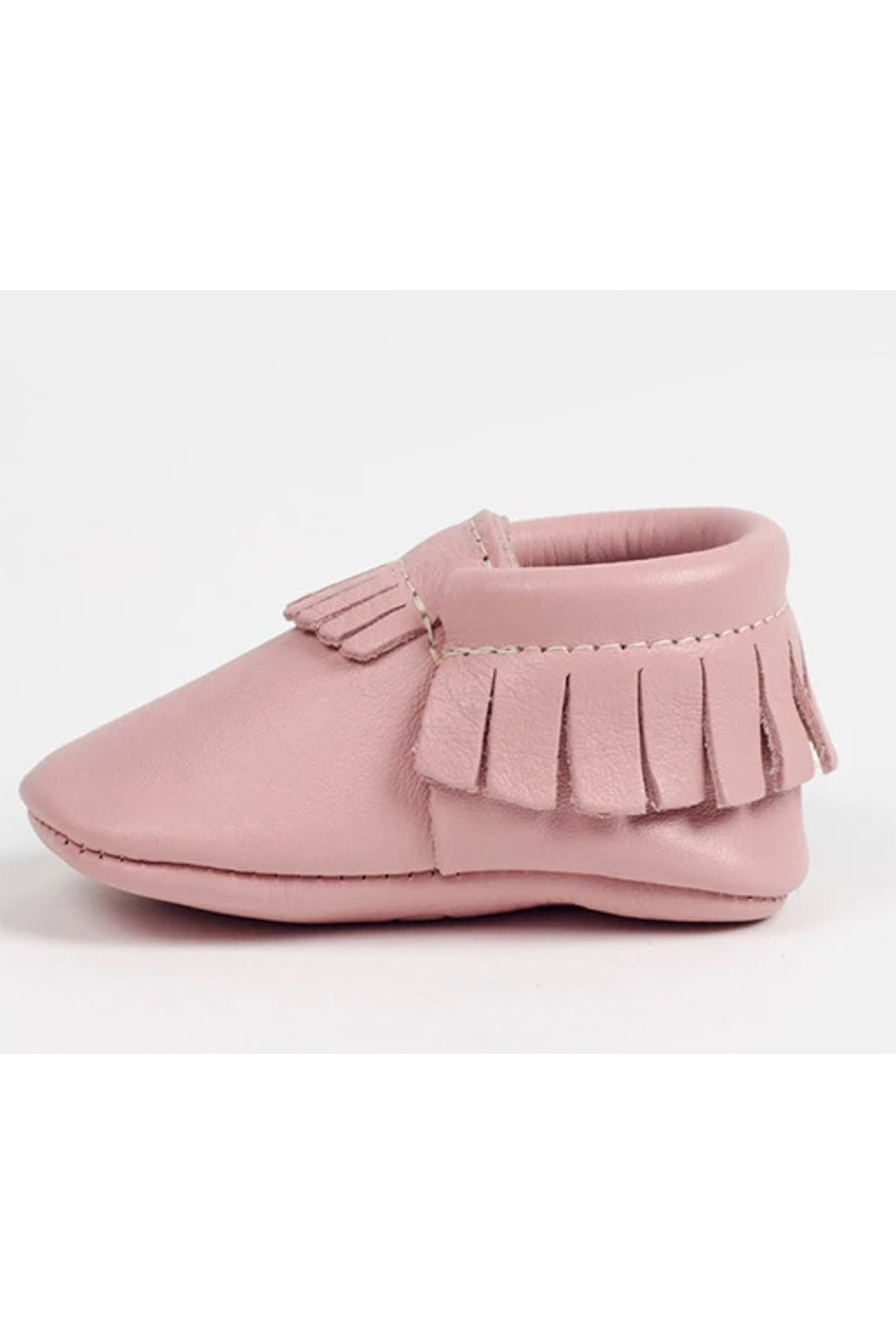 Freshly Picked Blush Moccasins - Front Cropped Image