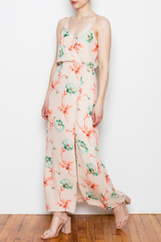 Blush Noir Floral Maxi Dress - Product Mini Image