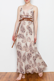Blush Noir Tie Waist Maxi - Product Mini Image