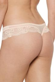 Blush Obsession Thong - Front full body