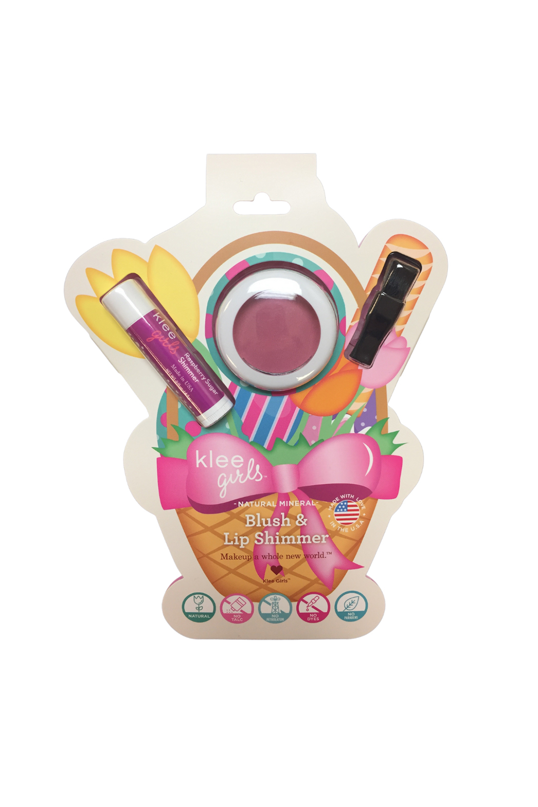 Klee Kids Blush & Shimmer Set - Front Cropped Image