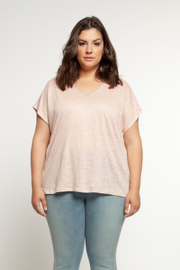 Dex Blush short sleeve top - Product Mini Image