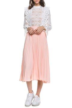 English Factory Blush Skirt - Product List Image