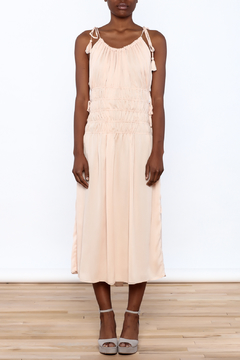 English Rose Blush Sleeveless Midi Dress - Product List Image