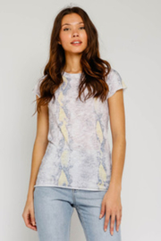 Olivaceous  Blush Snake Tee - Product Mini Image