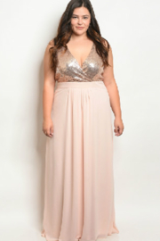 Ricarica Blush Sparkle Gown - Product Mini Image